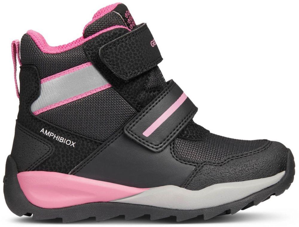 f4ee4acd40c0 Geox Dievčenské zimné topánky Orizont - čierne značky Geox - Lovely.sk