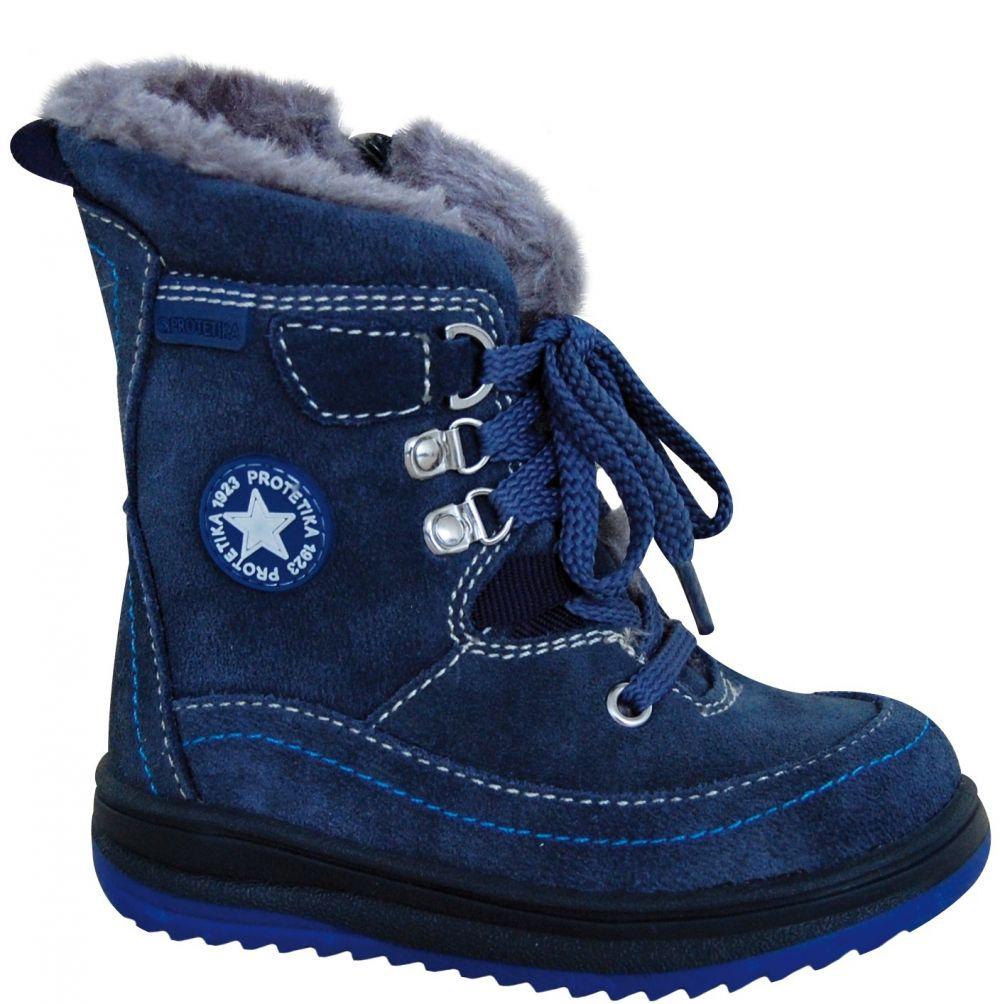 fc4b071f3967 Protetika Chlapčenské zimné topánky Bory - modré značky Protetika -  Lovely.sk