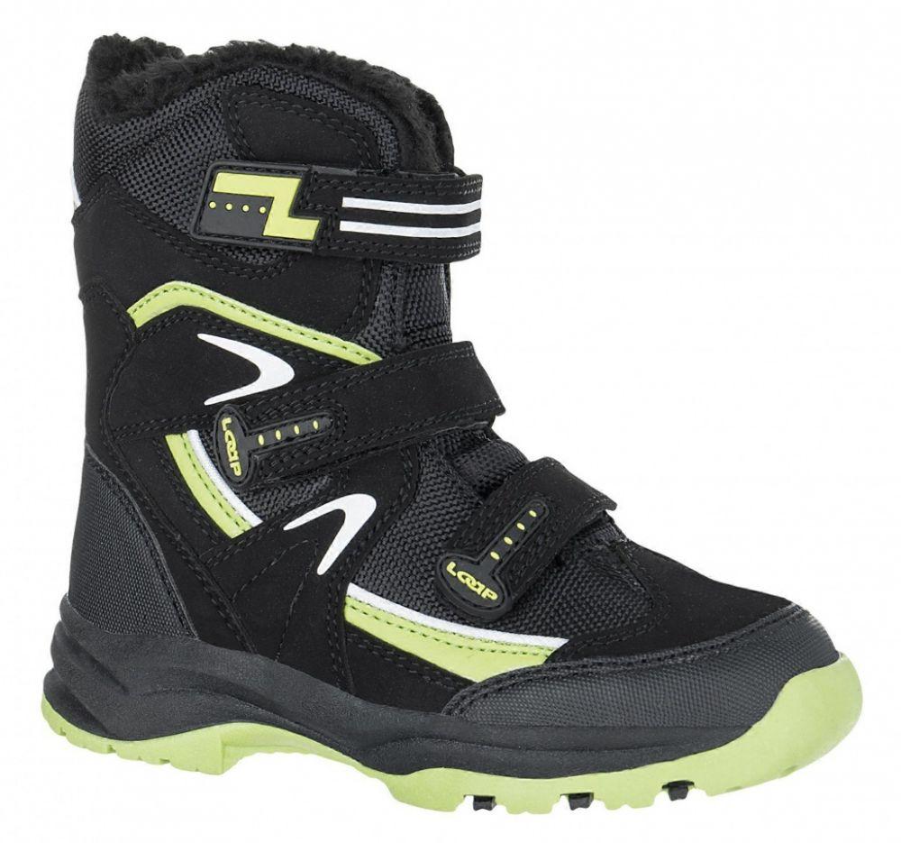 2474f781b LOAP Detské zimné topánky Mareo - čierne značky LOAP - Lovely.sk