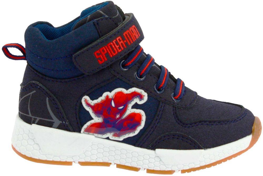 Disney by Arnetta Chlapčenské členkové tenisky Spiderman - modré značky  Disney by Arnetta - Lovely.sk ad5d94e51d8