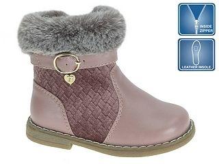 6de27234e Beppi Dievčenské čižmy - ružové s príveskom značky Beppi - Lovely.sk