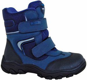 0249e3e867165 Protetika Chlapčenské zimné topánky HASKO - šedo-modré značky ...