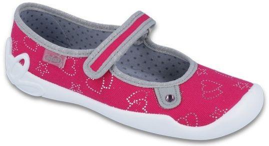 c9490e5f71dd Befado Dievčenské papučky Blanca - červené značky Befado - Lovely.sk