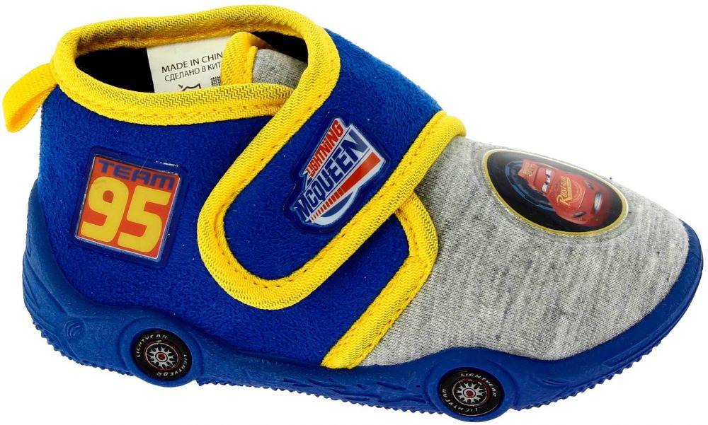 Disney by Arnetta Chlapčenské papučky Cars - modré značky Disney by ... e7ab24a402e