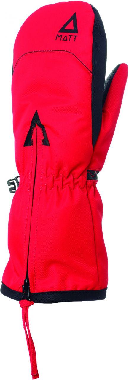 Matt Dievčenské lyžiarske rukavice 3212 - červené značky Matt ... a48361933f6