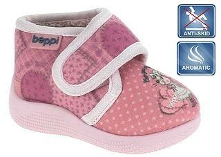 b28c73f30 Beppi Dievčenské papučky - ružové s myškou značky Beppi - Lovely.sk