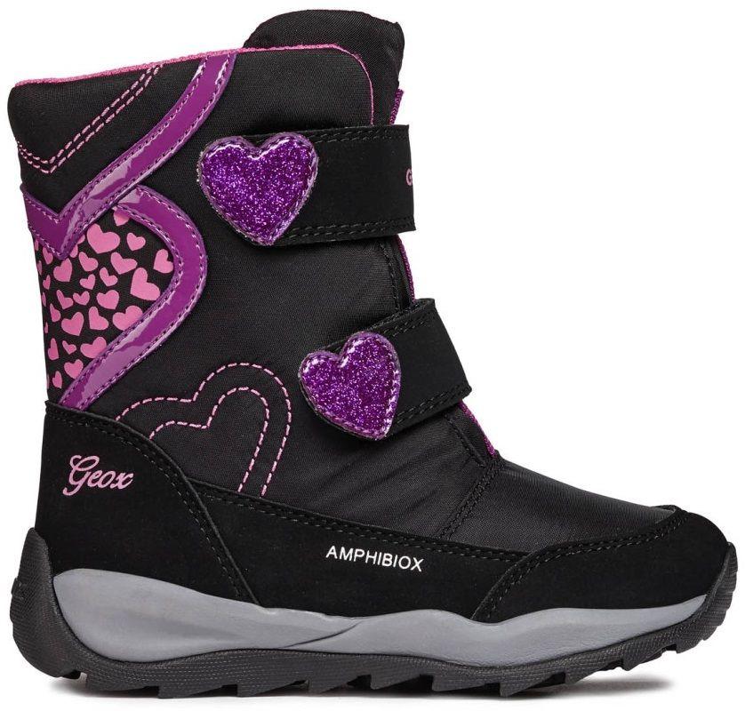 Geox Dievčenské zimné topánky Orizont - čierne značky Geox - Lovely.sk 9d21743aaa