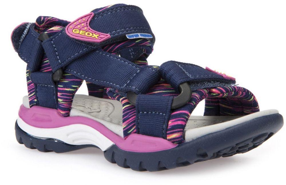 1a6ac6176f85 Geox Dievčenské sandále Borealis - modro-ružové značky Geox - Lovely.sk