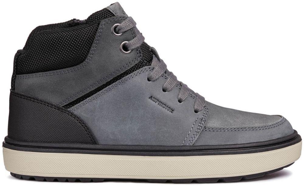 Geox Chlapčenské členkové topánky Mattias - šedé značky Geox - Lovely.sk d6f3000d572
