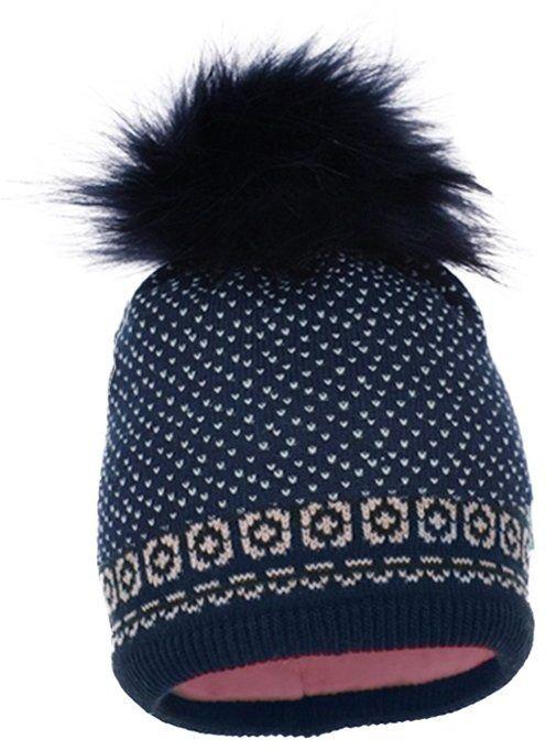 f842b4ee8 Pupill Dievčenská čiapka Astrid - modro-ružová značky Pupill - Lovely.sk