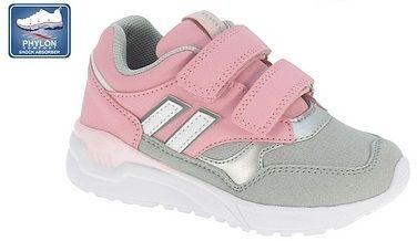 c63365502 Beppi Dievčenské tenisky - šedo-ružové značky Beppi - Lovely.sk