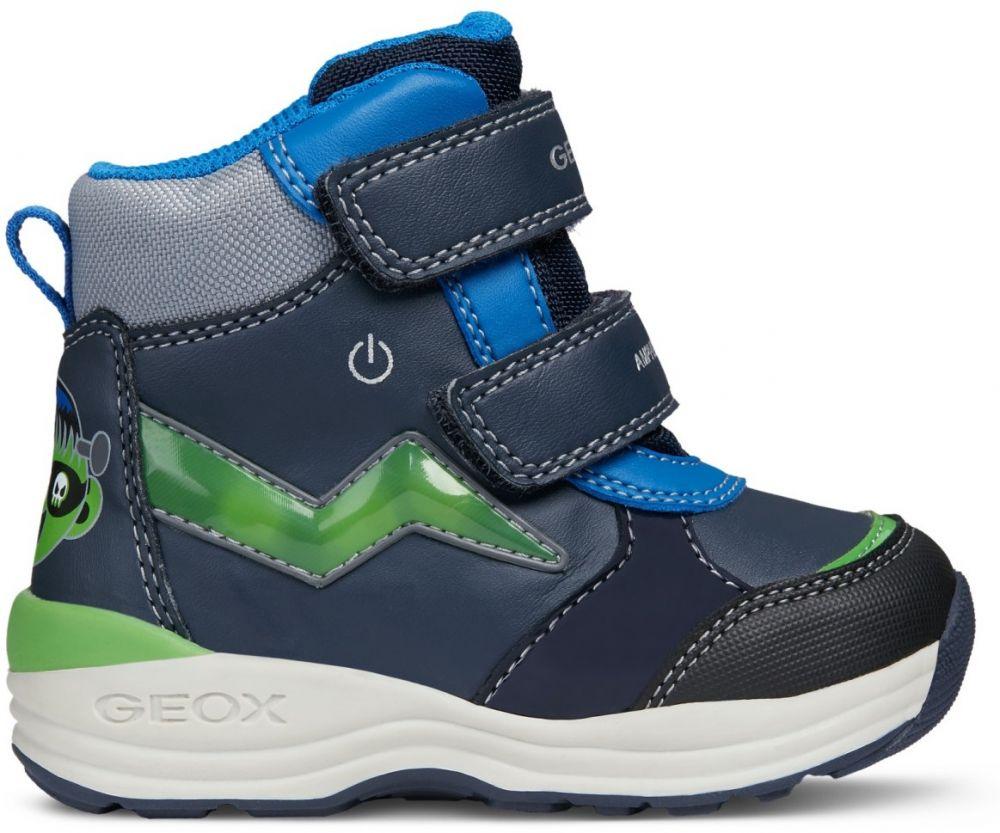 Geox Chlapčenské zimné topánky New Gulp - modré značky Geox - Lovely.sk e0263310e82