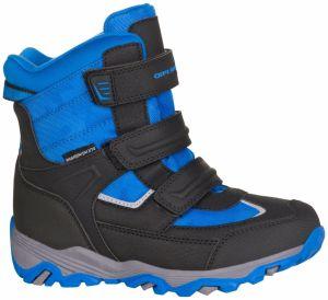 ALPINE PRO Chlapčenské zimn topánky Acacio - čierno-modré 8b9014a7c4b