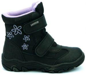 5612d2027f Protetika Chlapčenské zimné topánky s membránou Polar - čierne ...