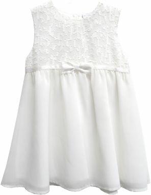 Topo Dievčenské šaty - biele 45550bddeff