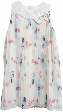 624c904264dd Topo Dievčenské spoločenské šaty s kvetmi - farebné značky Topo ...