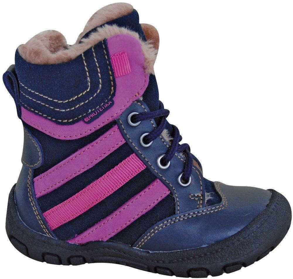 21e51b260c24 Protetika Dievčenské zimné topánky Alex - tmavo modré značky Protetika -  Lovely.sk