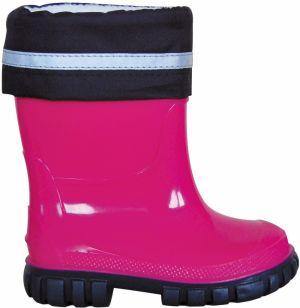 baa454cfa938 Protetika Dievčenské zateplené gumáky Titty - ružové značky ...