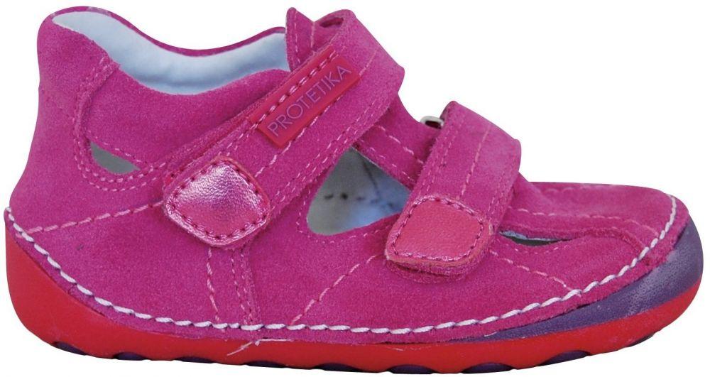645737f39844 Protetika Dievčenské barefoot sandále Mela - ružové značky Protetika -  Lovely.sk