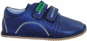 6361464786b4 Protetika Chlapčenské členkové topánky barefoot Maty - modré značky ...
