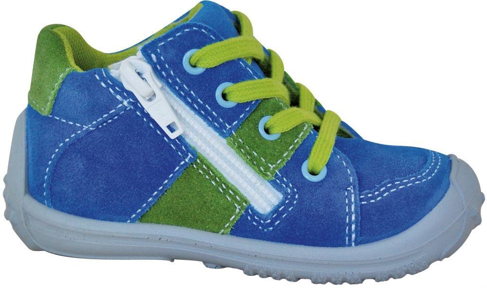 1e9360fca03b Protetika Chlapčenské členkové tenisky Ken - modro-zelené značky ...