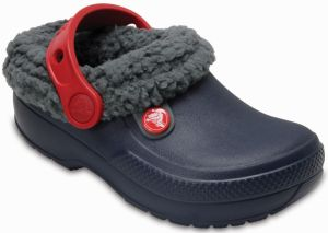 Crocs Chlapčenské zataplené sandále Kids  Classic Blitzen III Clog - tmavo  modré 8fb77d6784
