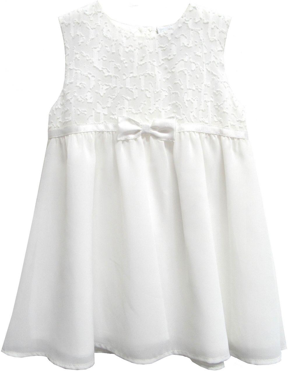 5ef4e546cc66 Topo Dievčenské šaty - biele značky Topo - Lovely.sk