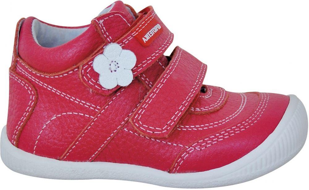 b8593b7ec424 Protetika Dievčenské členkové topánky Agnes - červené značky Protetika -  Lovely.sk