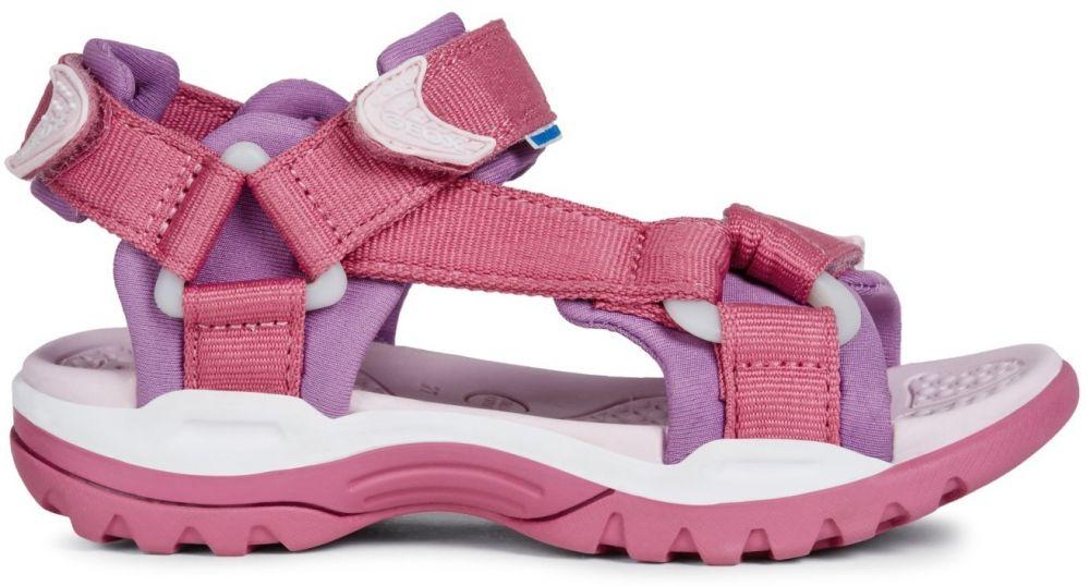 Geox Dievčenské sandále Borealis - ružové značky Geox - Lovely.sk 07aee97c79