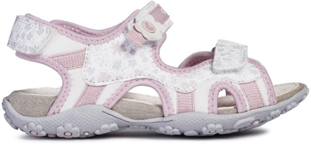 Geox Dievčenské sandále Roxanne - bielo-ružové značky Geox - Lovely.sk 640a1cbc01
