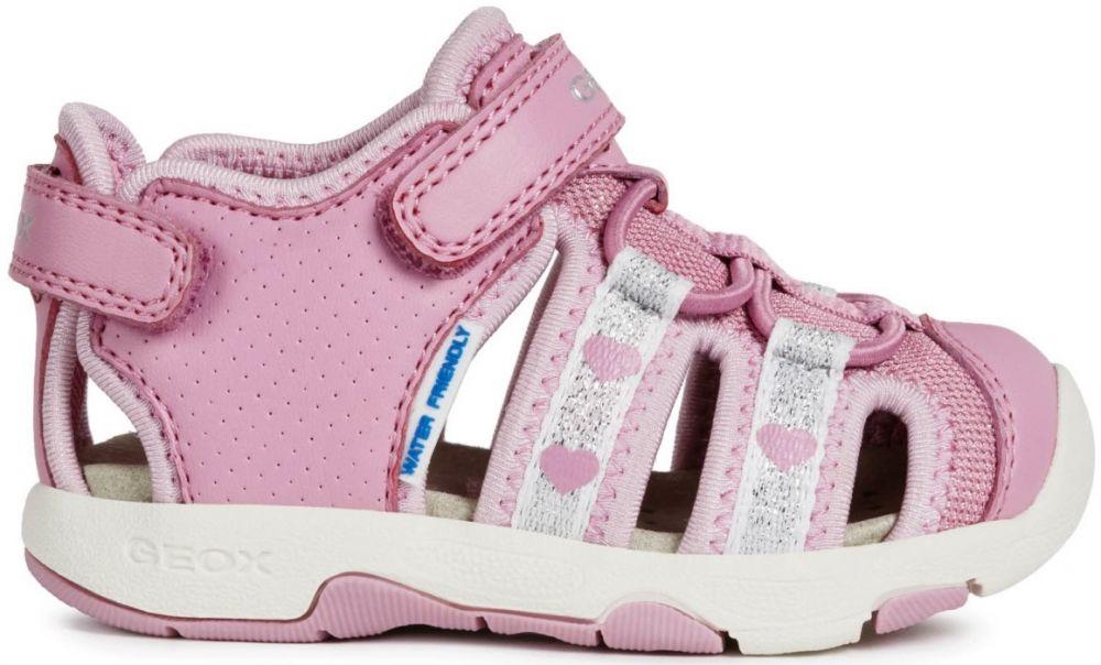 2e5dbd4b986f Geox Dievčenské sandále Multy - ružové značky Geox - Lovely.sk