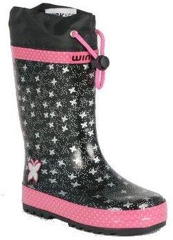 370c0c9a91ac Wink Dievčenské snehule - čierno-ružové značky Wink - Lovely.sk
