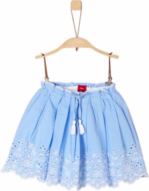 b360ee9578e0 ALPINE PRO Dievčenské sukne Lauč 2 s kvietkami - modrá značky Alpine ...