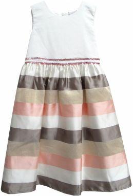 7960bf165b65 E plus M Dievčenské šaty Frozen - šedo-ružové značky E plus M ...