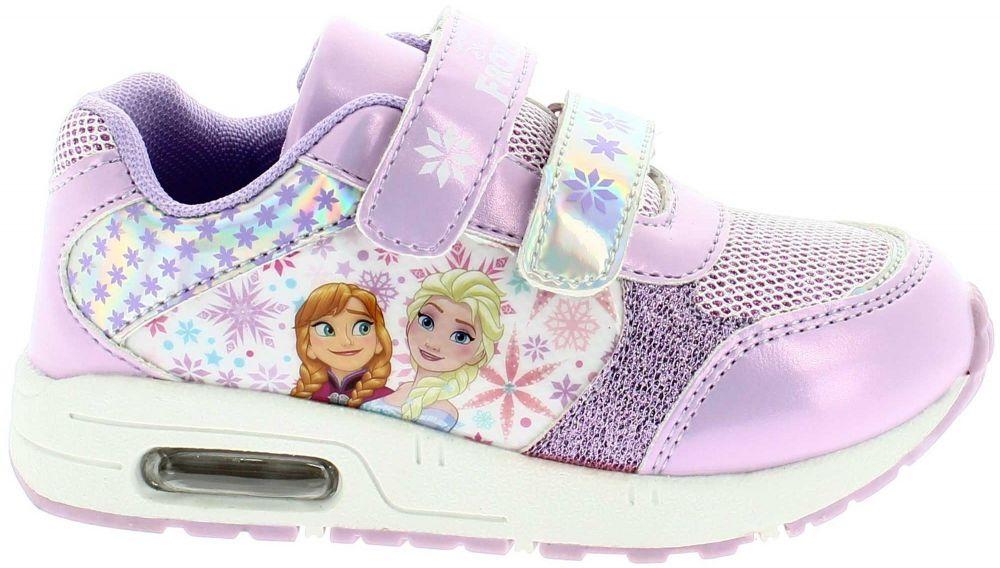 Disney by Arnetta Dievčenské svietiace tenisky Frozen - fialové značky  Disney by Arnetta - Lovely.sk bd3201ea6e0