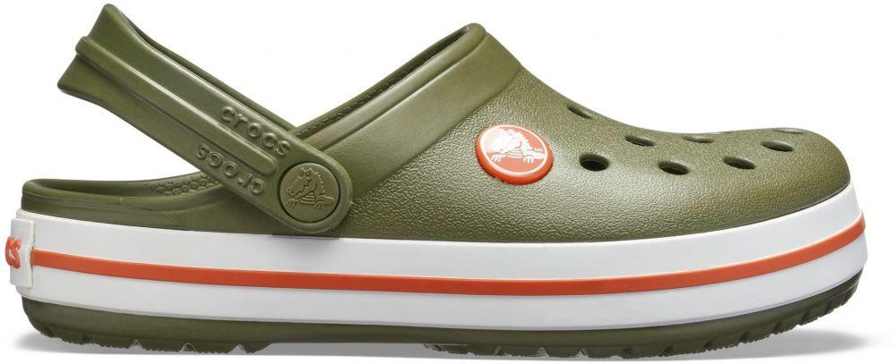 Crocs Chlapčenské sandále Crocband Clog - zelené značky Crocs - Lovely.sk 1ca94baabc