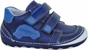 2207a544959f Protetika Chlapčenské členkové barefoot topánky Levis - modré