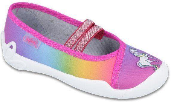 Befado Dievčenské papučky s jednorožcom Blanca - farebné značky Befado -  Lovely.sk af14fa0b7cd