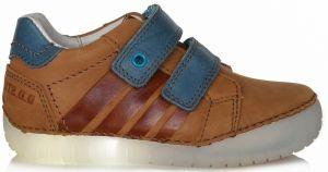 0015e12d2ba0b D.D.step Chlapčenské zateplené topánky - hnedé značky D.D.step ...