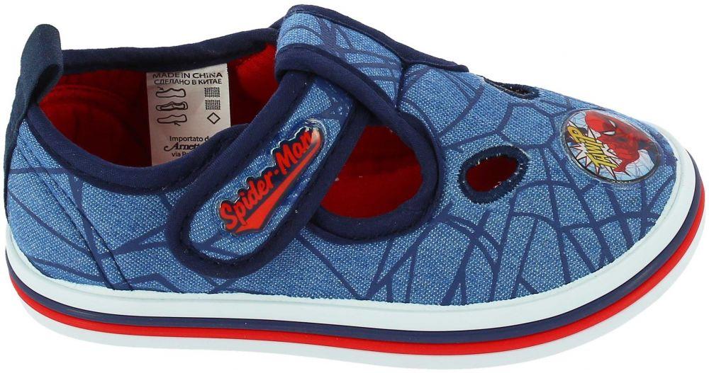 Disney by Arnetta Chlapčenské papučky Spiderman - modré značky ... 18ab9290eac