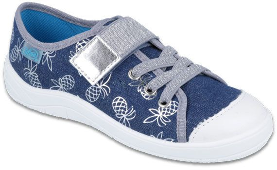 Befado Dievčenské tenisky s ananásy Tim - modré značky Befado - Lovely.sk 22f2a4be8ab