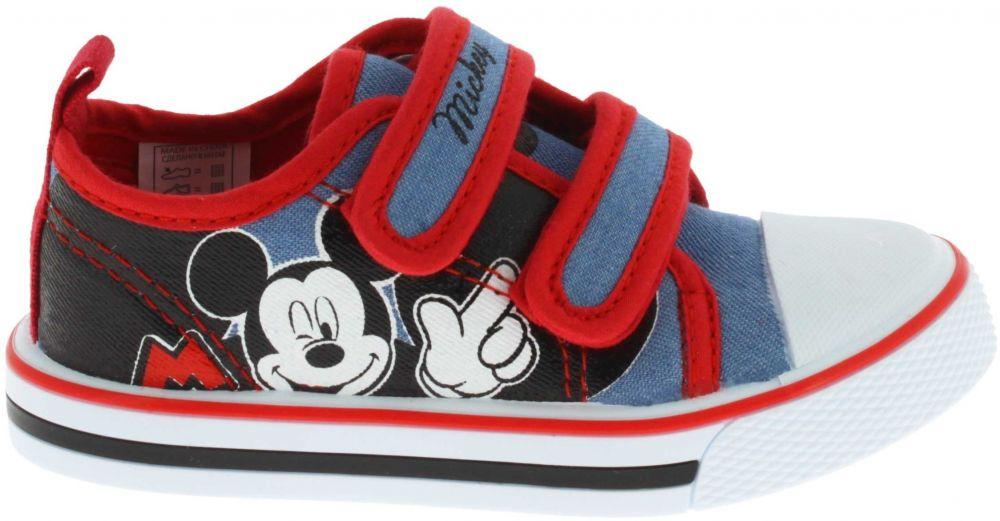 Disney by Arnetta Chlapčenské tenisky Mickey Mouse - modro-červené značky  Disney by Arnetta - Lovely.sk 0e6bf62d3bc