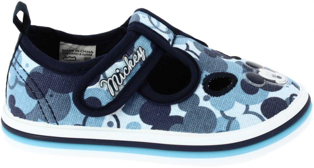 Disney by Arnetta Chlapčenské papučky Mickey Mouse - modré značky Disney by  Arnetta - Lovely.sk e028f417346