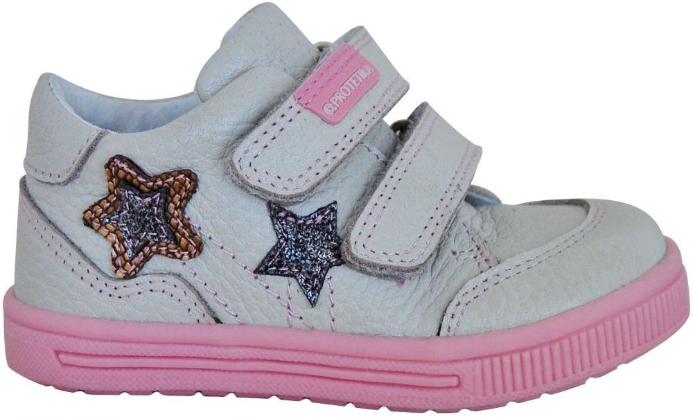 Protetika Dievčenské členkové topánky Tala - šedo-ružové značky Protetika -  Lovely.sk 912c3d4016a