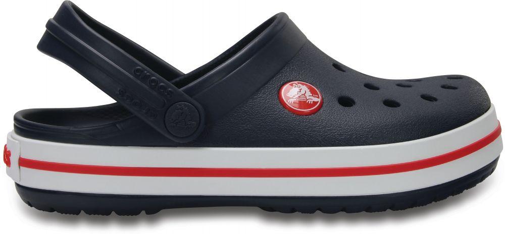 Crocs Chlapčenské sandále Crocband Clog - tmavo modré značky Crocs ... 862f74a8340