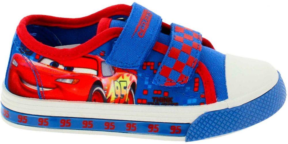 Disney by Arnetta Chlapčenské tenisky Cars - modré značky Disney by Arnetta  - Lovely.sk 20ed36c0f3a