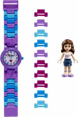LEGO® Watch   Clock Dievčenské hodinky Friends Olivia - fialové 064fb7e34b6