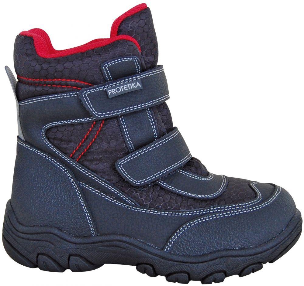 Protetika Chlapčenské členkové zateplené topánky Stadler - čierne značky  Protetika - Lovely.sk 838209654b