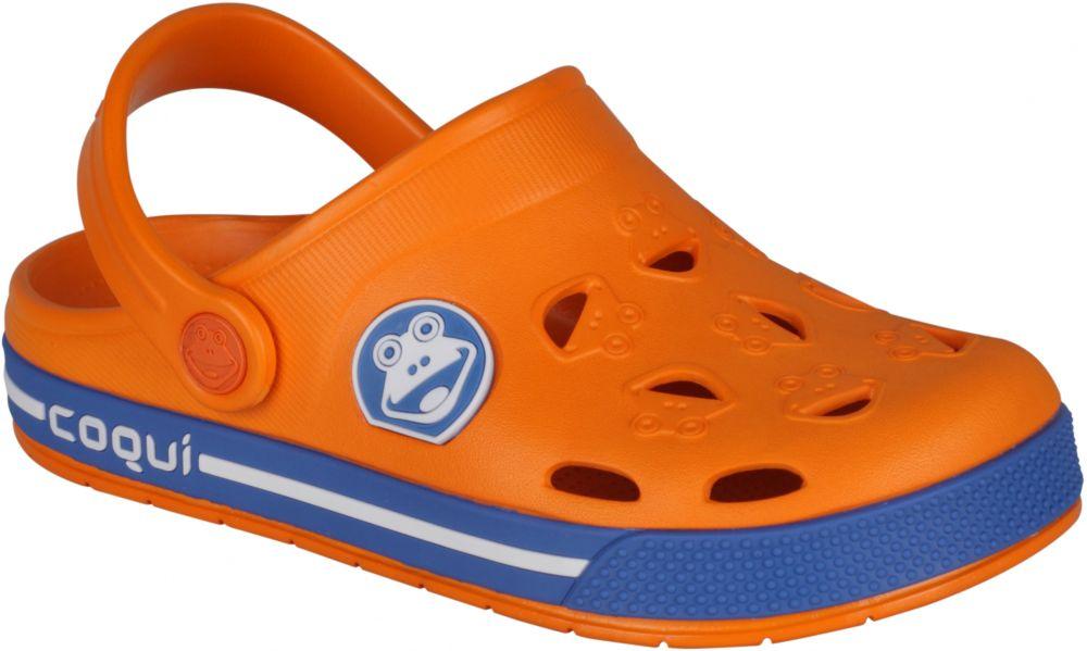 f109c882e4a0 Coqui Chlapčenské sandále Froggy - oranžové značky Coqui - Lovely.sk