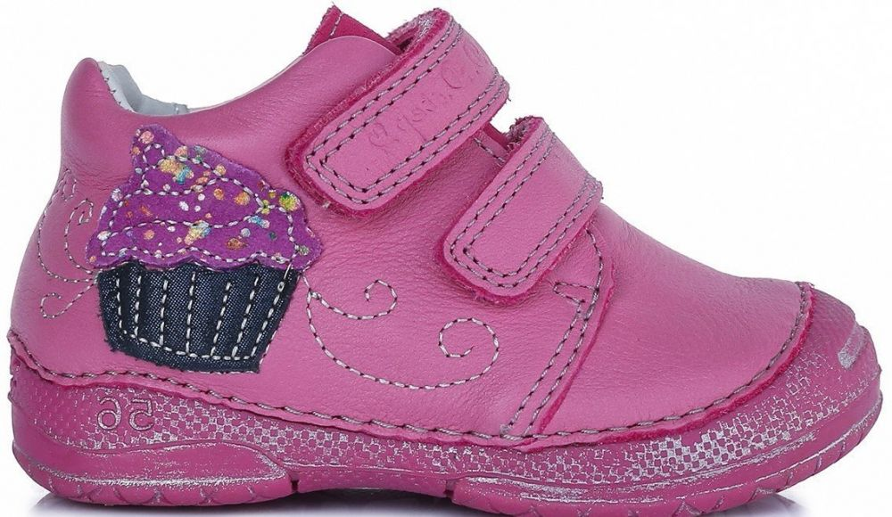 34baf8107 D.D.step Dievčenské členkové topánky s tortičky - ružové značky D.D.step -  Lovely.sk